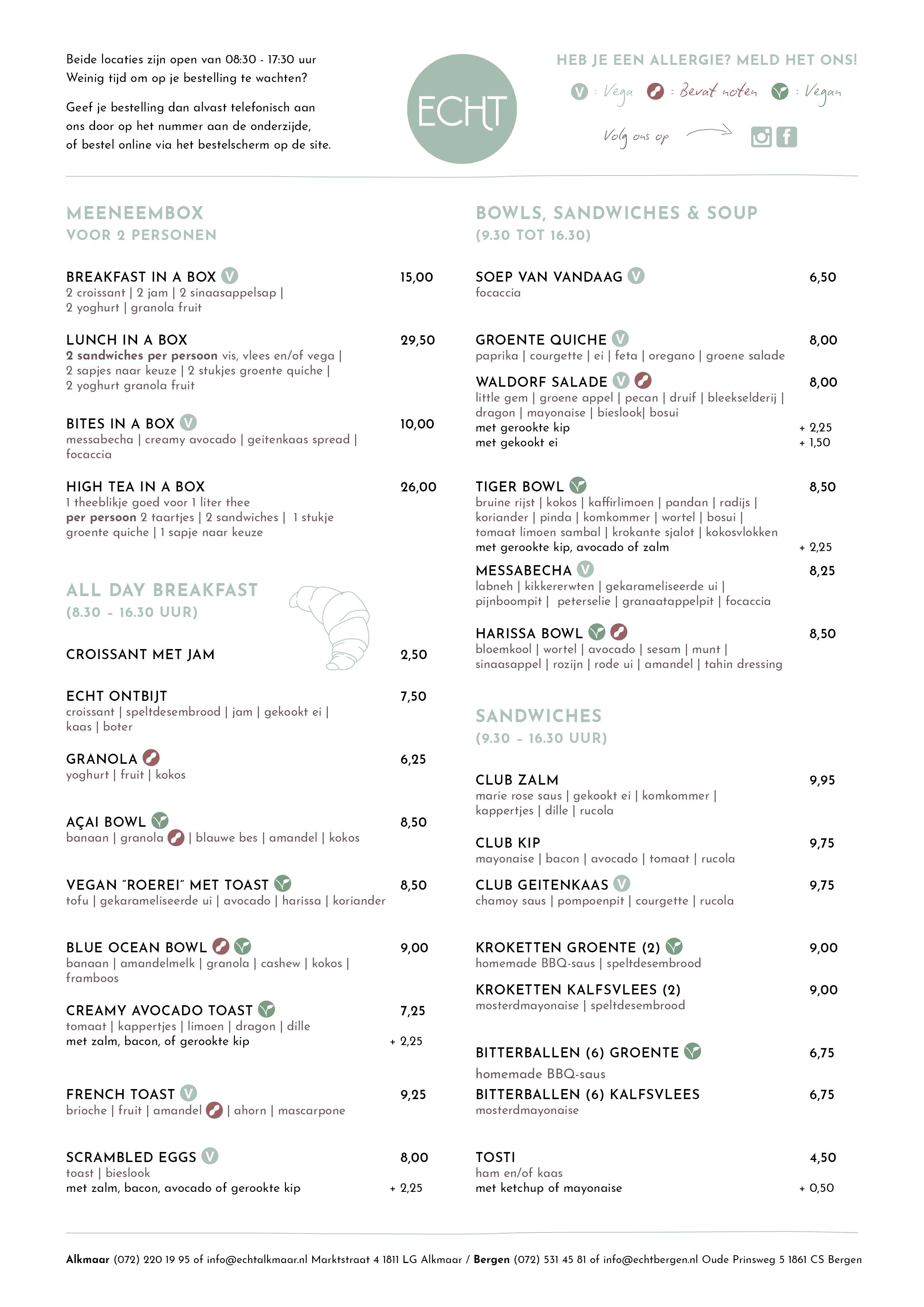 menukaart pagina-1